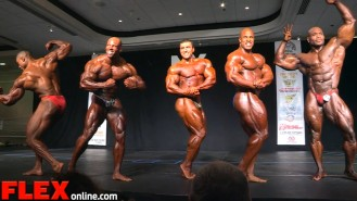 2015 NY Pro Open Bodybuilding Final Posedown and Awards Video Thumbnail