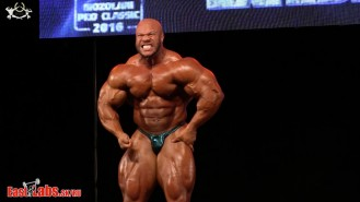 5X Mr. Olympia Phil Heath Guest Posing at the 2016 Mozolani Pro Video Thumbnail