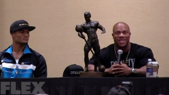 "5X Mr. Olympia Phil Heath Says ""Thank You""  Video Thumbnail"