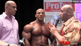 Winner's Circle Interview - Big Ramy Wins New York Pro Video Thumbnail