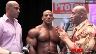 Winner's Circle Interview - Big Ramy Wins New York Pro Video Thumbnail