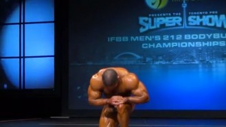 Raul Carrasco 2013 Toronto Pro Posing Routine Video Thumbnail