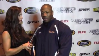 Shawn Rhoden Interview and Guest Posing at 2013FLC Video Thumbnail
