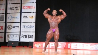 2016 IFBB Pittsburgh Pro Guest Posing: Shawn Rhoden Video Thumbnail