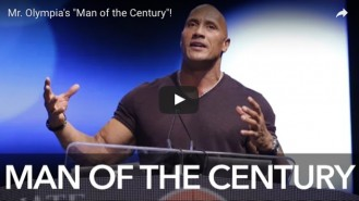 The Rock's Inspirational Speech at the 2016 Olympia Video Thumbnail