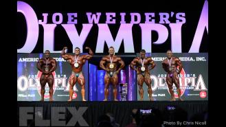 Final Posedown & Awards - 212 Bodybuilding - 2018 Olympia Gallery Thumbnail