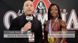 Interview: Olympia Figure Champion Cydney Gillon Video Thumbnail