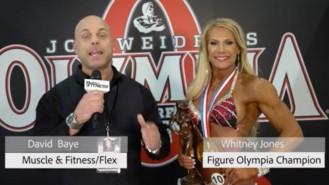 Interview: 2018 Olympia Fitness Champion Whitney Jones:  Video Thumbnail
