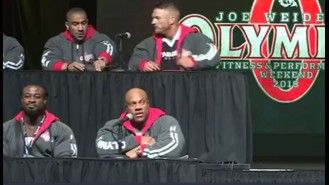 Phil Heath and Shawn Rhoden Have Heated Exchange    Video Thumbnail