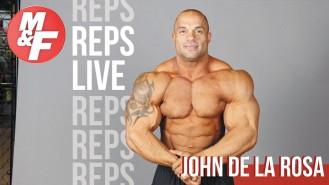 Youtube-REPS-LIVE-John-De-La-Rosa-Bodybuilding-Tips Video Thumbnail