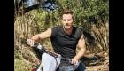 Chris Pratt on a Motorcycle