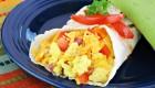 Scrambled Egg & Sardine Wrap