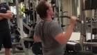 David Harbour lifting