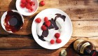 Yogurt Bowls With Beer-Chocolate Sauce