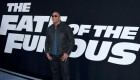 Dwayne The Rock Johnson at Fast & Furious event