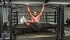 Lamonica Garrett Hanging Leg Raise Exercise