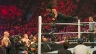 Seth Rollins Jump Out Of Ring