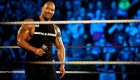 The Rock at WWE Raw