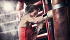 Boxing with Heavy Bag
