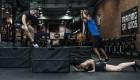 CrossFit Burpee Box Jump