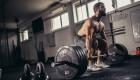 Man Deadlifting in Gym