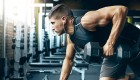 Man Working Out With Dumbbell  thumbnail