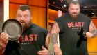 Watch: Strongman Eddie Hall Casually Folds a Frying Pan Like a Tortilla
