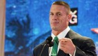 John Cena attends WWE SummerSlam Press Conference at Beverly Hills Hotel on August 13, 2013 in Beverly Hills, California.