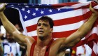 Kurt Angle Wins An Olympic Medal