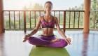 Woman Practicing Mindfulness Meditation