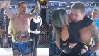 Watch: MMA Audience Member Jumps Out of the Crowd, Into the Ring to Win a Championship Belt