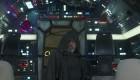 Luke Skywalker on the Millennium Falcon