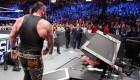 Braun Strowman Crushes Brock Lesnar