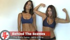 Behind the Scenes at The Bella Twins Cover Shoot