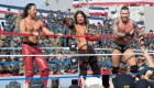 AJ Styles, Shinsuke Nakamura and Randy Orton