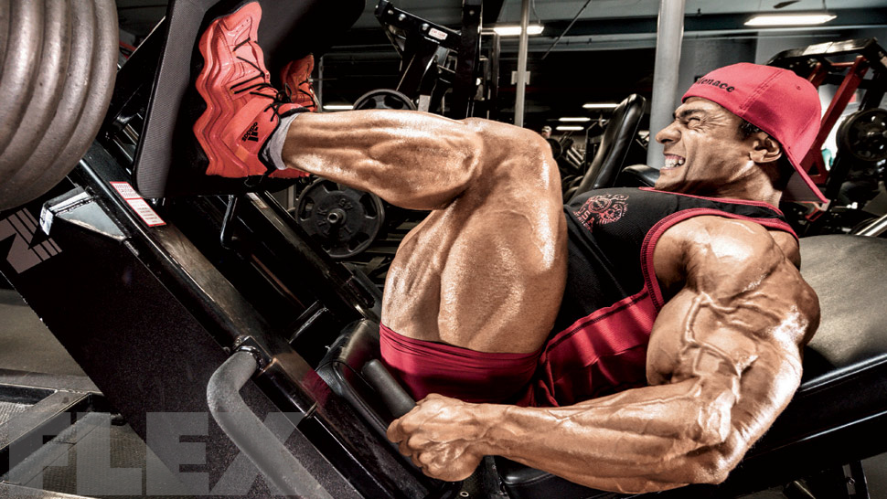 Leg muscle growth