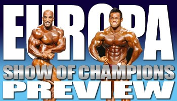 2009 EUROPA SHOW OF CHAMPIONS PREVIEW