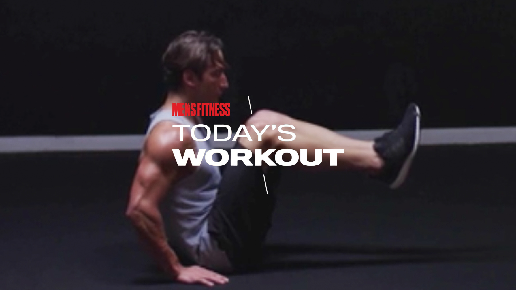 Today's Workout 21: Strengthen your core, build out your chest