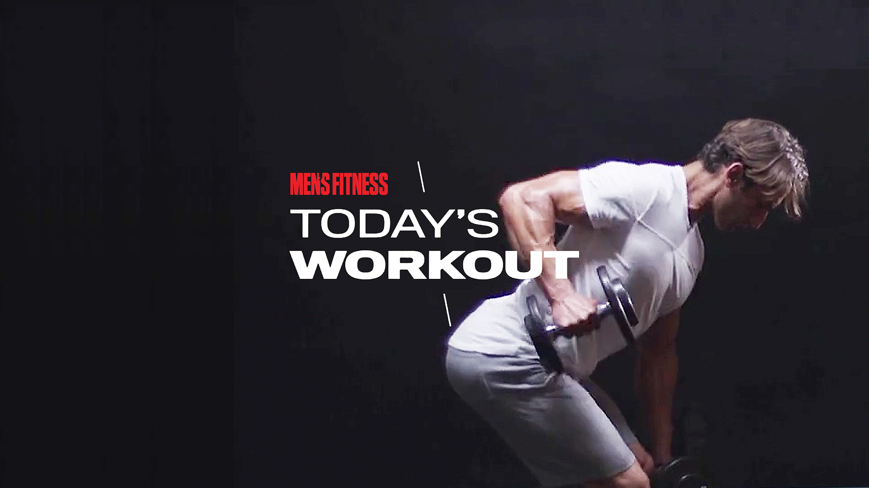 Today's Workout 137: The dumbbell-only circuit for a full-body muscle attack