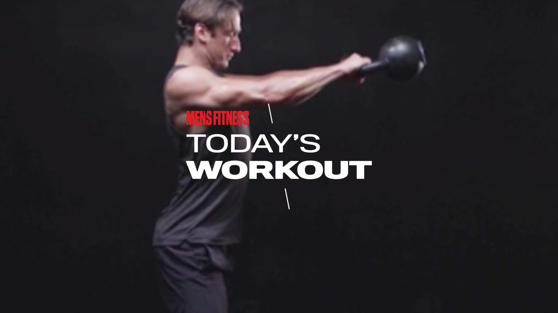 Today's Workout 73: The kettlebell-only circuit to fire up your morning