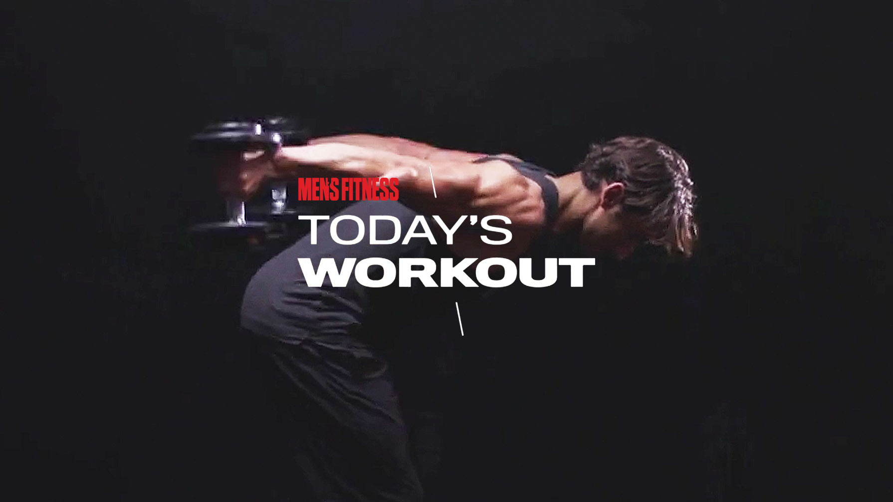 Today's Workout 42: The dumbbell-only circuit to build total-body mass