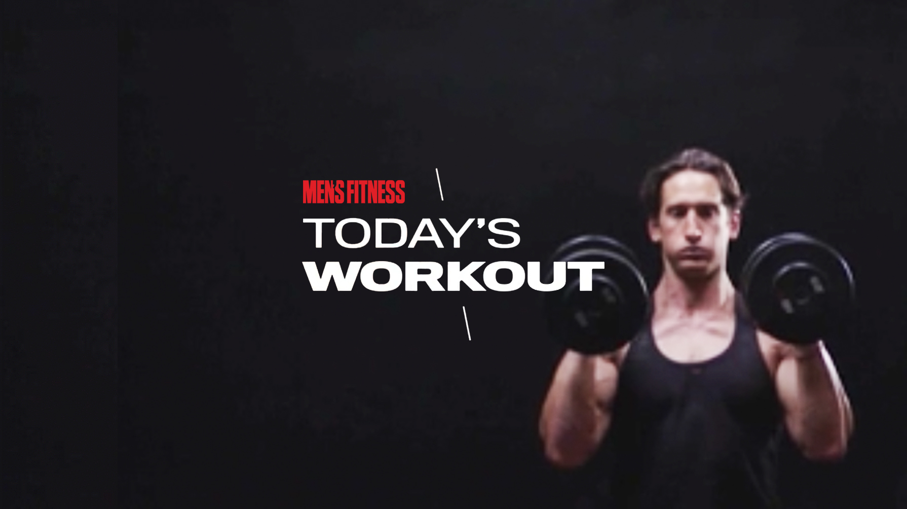 Today's Workout 77: The dumbbell-heavy routine to look great shirtless