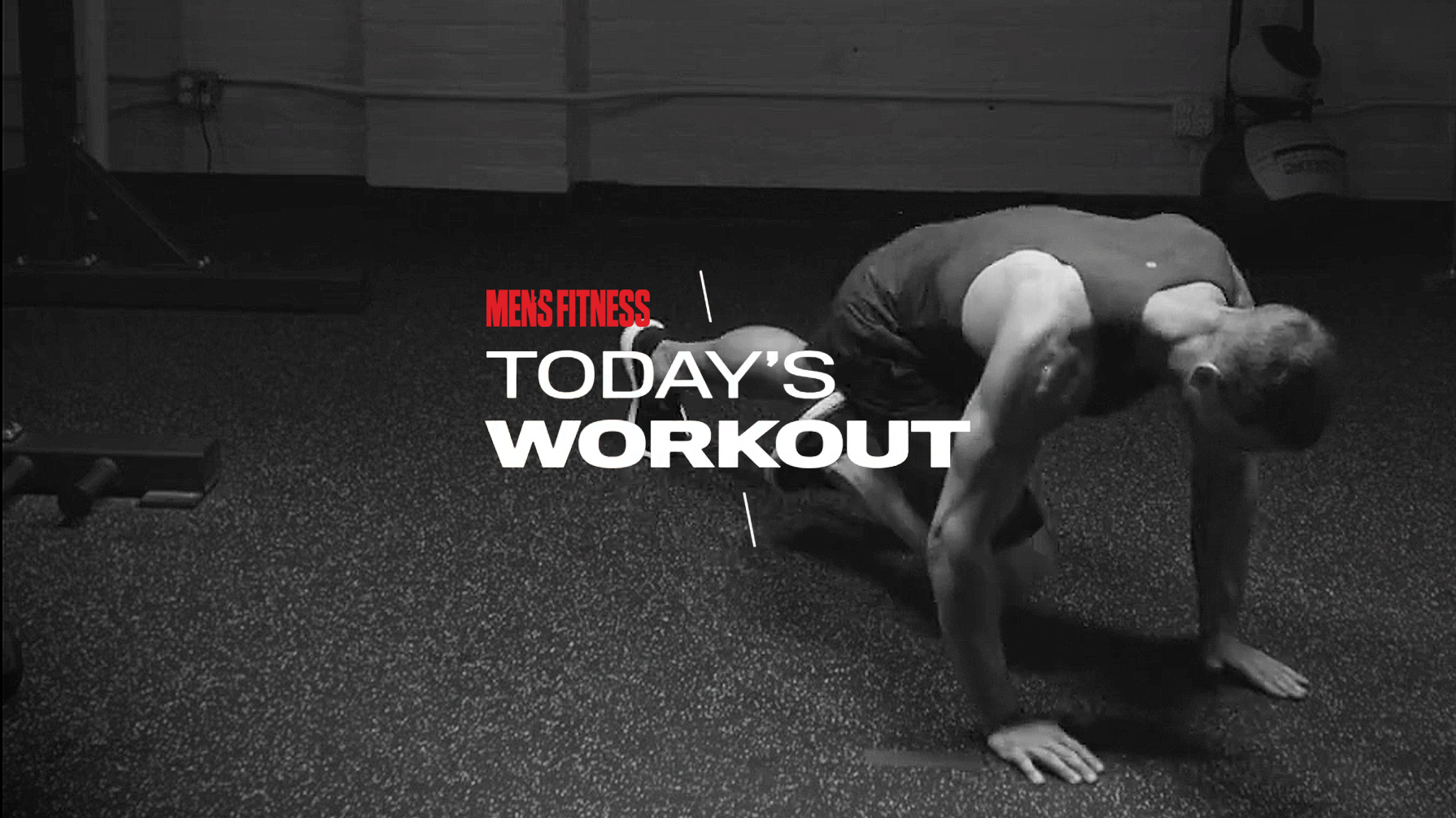 Today's Workout 127: The no-nonsense, no-equipment circuit to