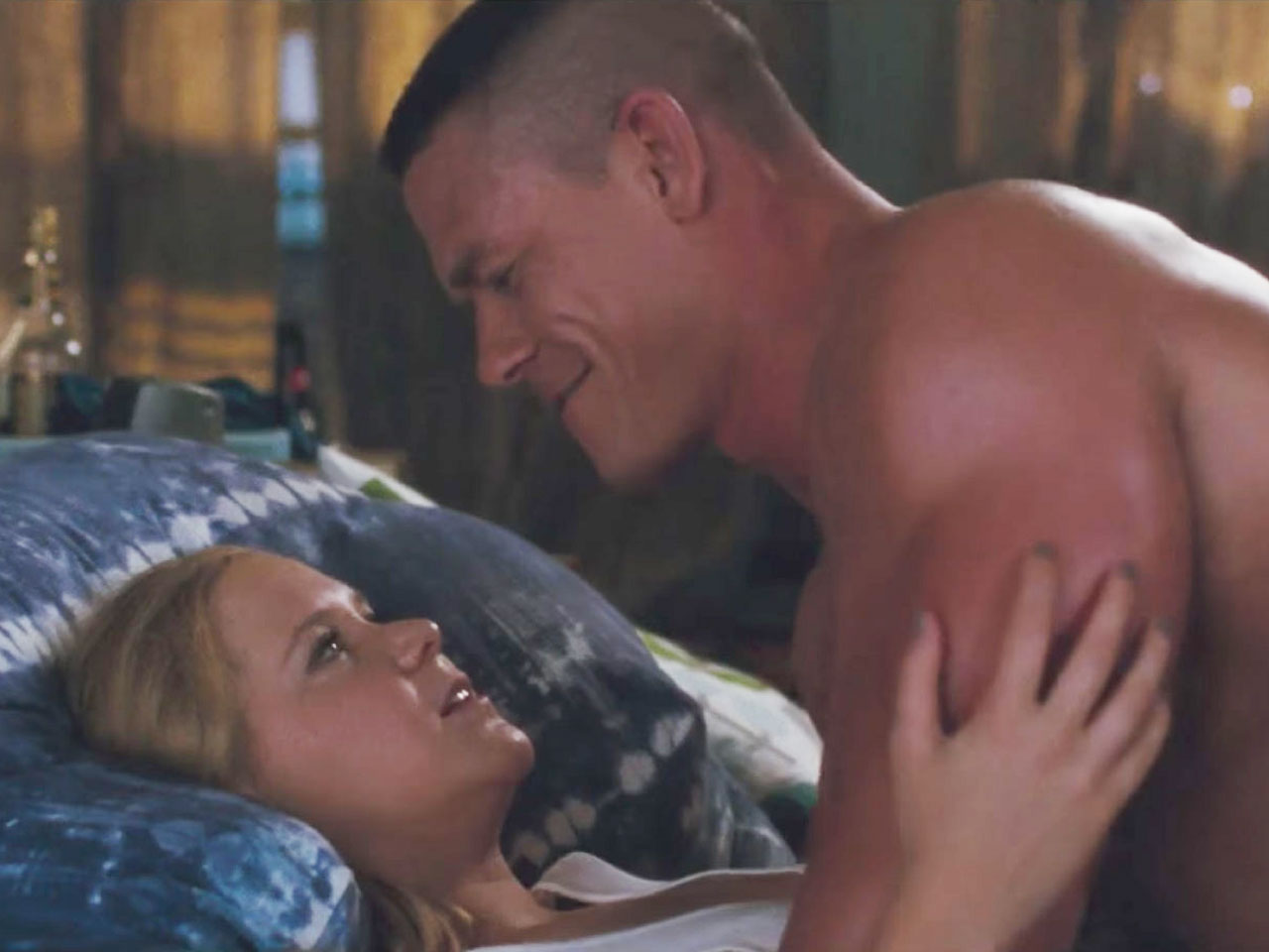 John Cena and Amy Schumer in 'Trainwreck'