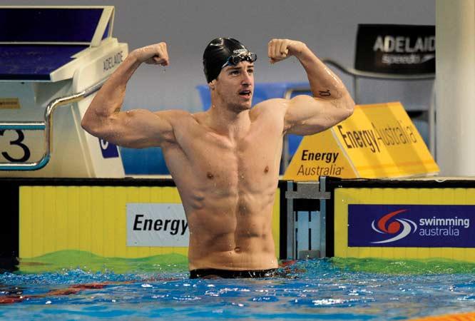 Swimwear Athlete Naked Olympic Photo Gif